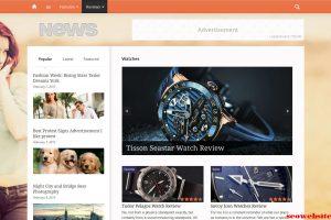 Layout web – News