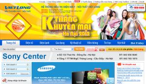 Website siêu thị
