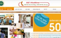 Website giặt thảm