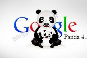 Google Panda 4.1 cập nhật – Phiên bản mới