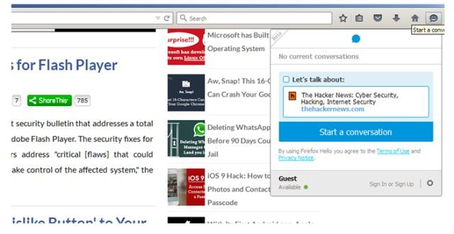 Người dùng có thể đăng ký và sử dụng tài khoản trình duyệt firefox