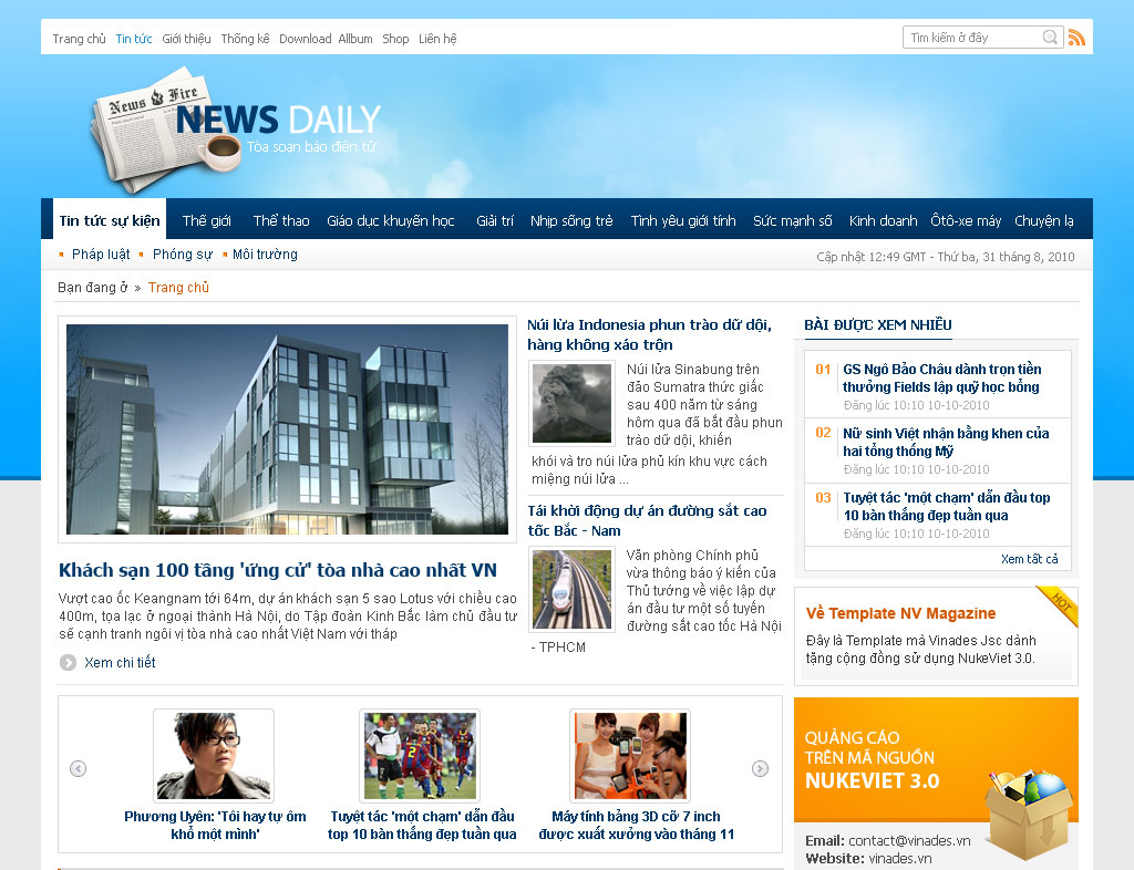 website cá nhân