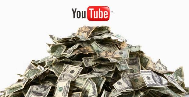Kiến tiền trên Youtube